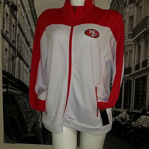Women NFL Track Jacket San Francisco 49ers 4384b59424
